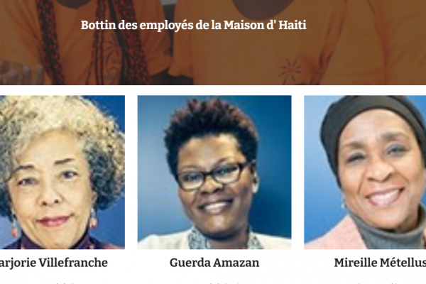 Bottin des employés(es) de la Maison d' Haiti