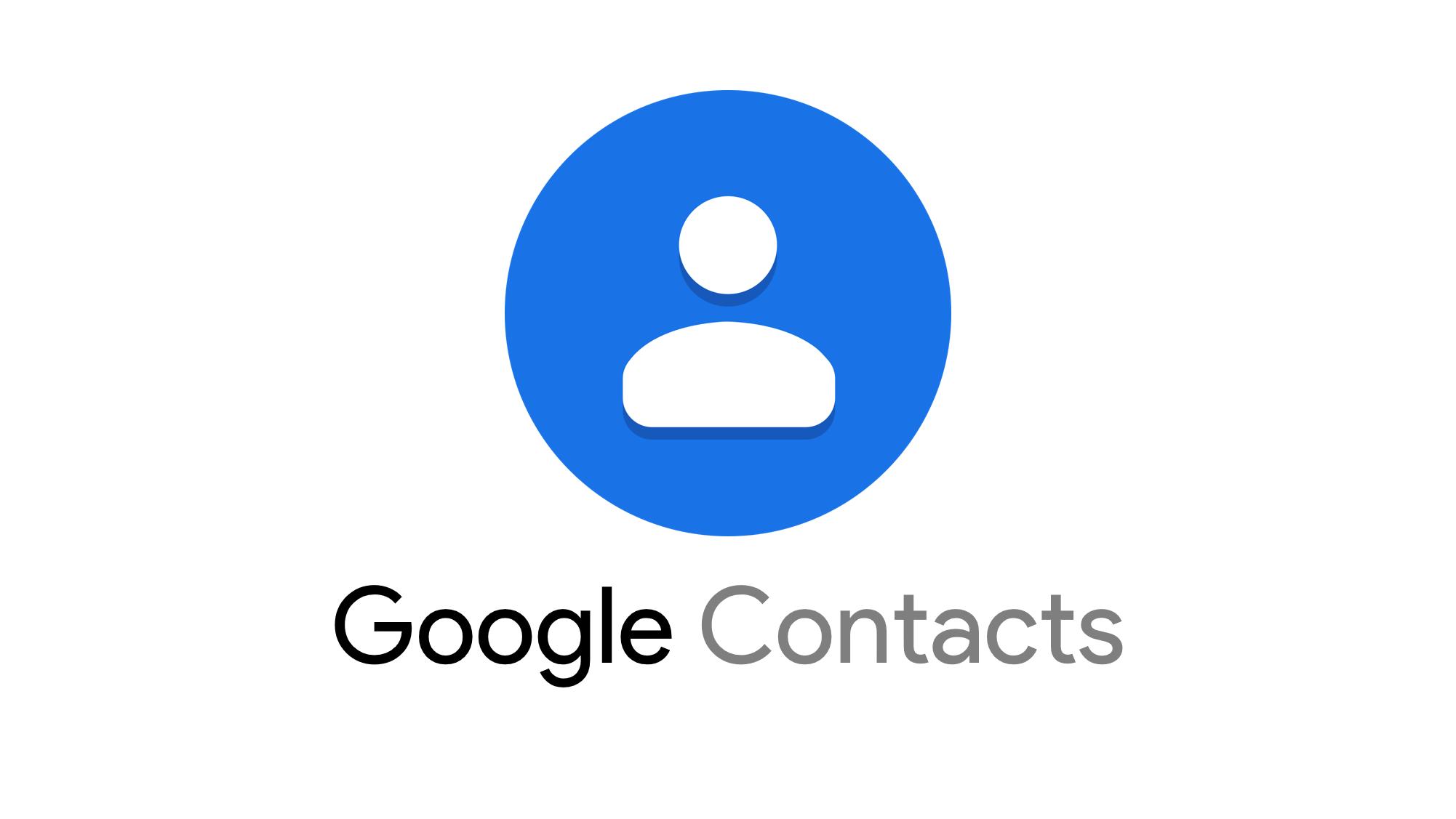 L'essentiel de Google  contacts